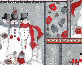 patchwork Christmas 103/61210 characters fabric