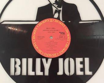 Billy Joel Vinyl Art-Wall Decor