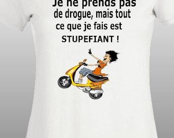T-shirt women funny text