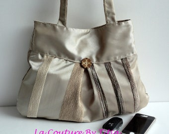 Brown handbag handmade @lacouturebytitia women's fashion