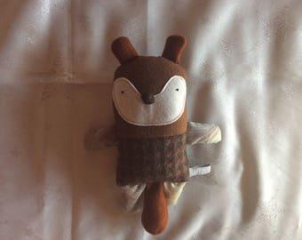 Plush Brown Beaver