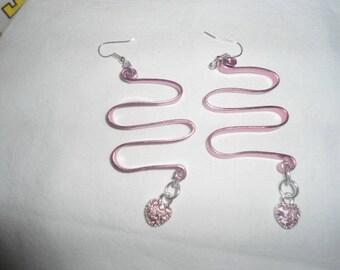 make pretty earrings in my workshop
