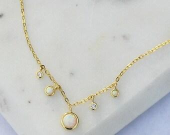 Blake station necklace