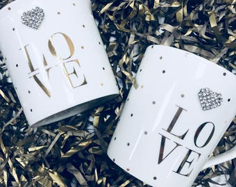 LOVE Mug & Candle