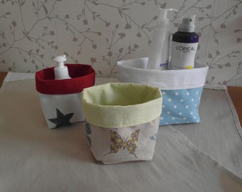 reversible fabric baskets