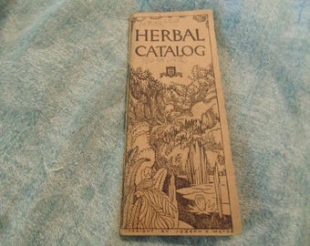 Vintage Herbal Catalog circa 1943