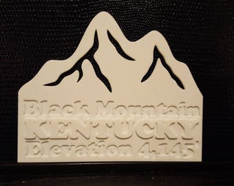 3D PRINTED Mountains - CUSTOMIZABLE -  Highest Point in Every State - Home Decor - Gift