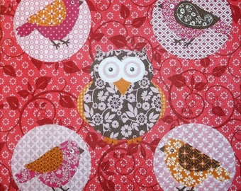 Napkin COLLECTION the owls and the owls 183 size 33 X 33