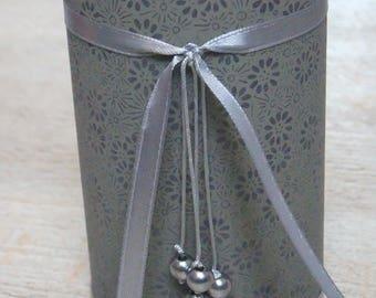 Pencil holder (No. 139) dark grey