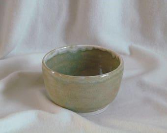 Small stoneware Bowl glazed in high temperature