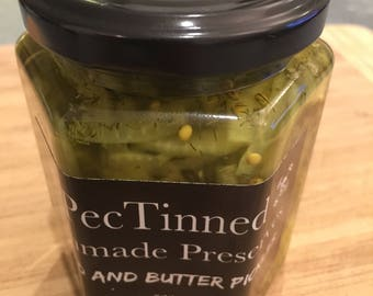 Manmade Bread and Butter Pickles