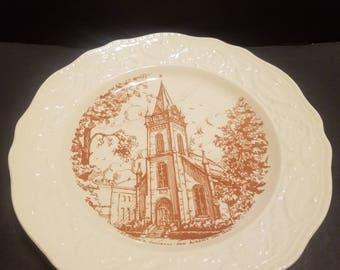 Adam Antique St Mark's Church  Plate