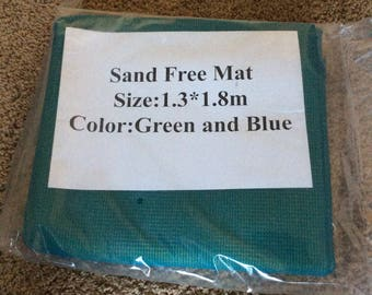Incredible!! Sand Free Beach Mat (no more sand on your mat)