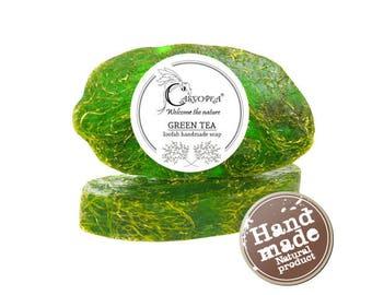 Loofah Soap Green Tea