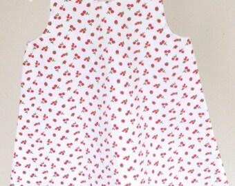 Small cherry line 2 years dress