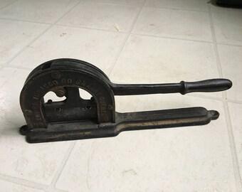Antique Tobacco Plug Cutter