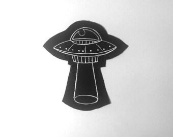 Alien Spaceship Paint Patch