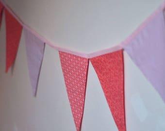 Pink hanging Bunting