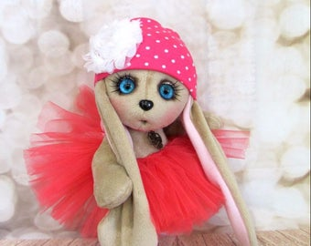 Plush rabbit gift for girls soft toy