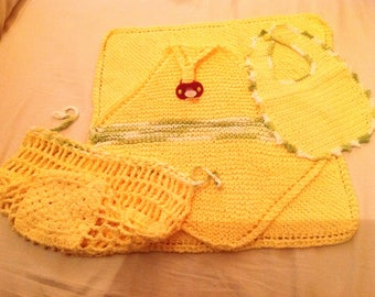 Cotton Baby accessory set