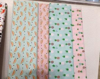 The half meter Rico Design cotton fabric