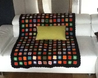 GRANNY SQUARE VINTAGE GYPSY PLAID