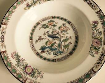 Wedgwood Dish, Vintage, Kutani Crane,