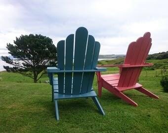 Adirondack Garden Chair Lounger