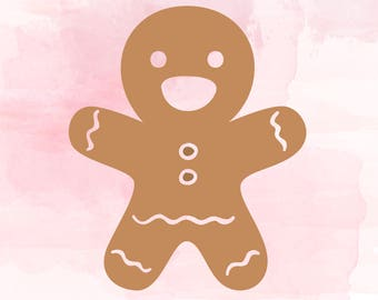 Gingerman svg cut file, Gingerbread cookie svg cut files, Christmas SVG Cut files, cookie gingerman clipart, Christmas cookies svg, Vector