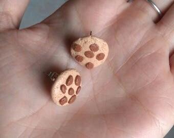 Delicious earrings in cookies