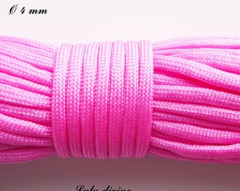 Cord / Paracord 550 4 mm: Rose