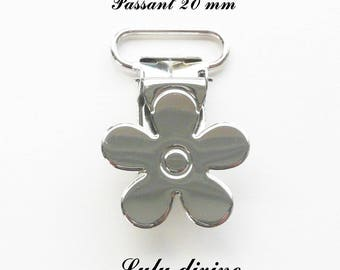 30 clips metal flower pacifier pacifier blanket from 20 mm