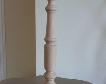 Lamp wood raw beech