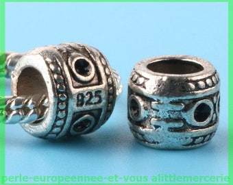 N195 European spacer bead for bracelet charms