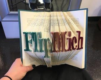 Handfolded books