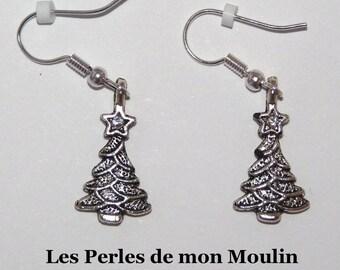 Crystal tree earrings / 2011198
