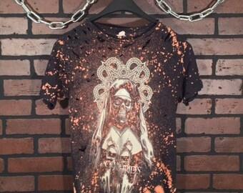 Black Veil Brides-Distressed Vintage Band Tee-Small -Vintage Concert Shirt-Rock Style-Punk Style-Band Shirt-Concert Shirt-Grunge-Metal Core