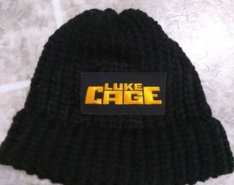 Luke cage knit hat