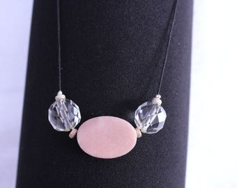 Opal Necklace pink energizing