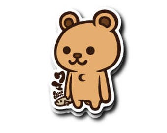 Bear Japanese Kawaii Sticker!!
