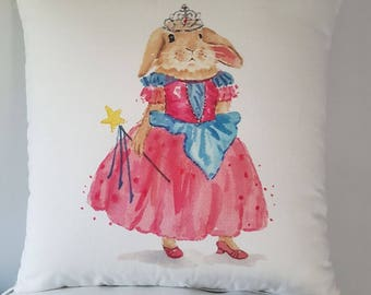 Cushion cover Princess Rabbit