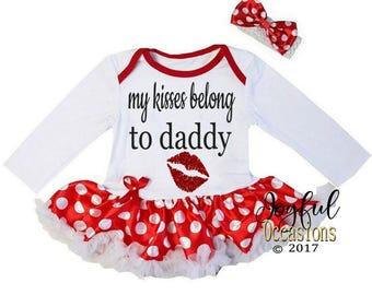 Valentine's Day Tutu Dress  Baby Girl - Cute 2pc Glitter Newborn Infant Valentines Day Tutu Bodysuit Dress For Babies 0-3 3-6 6-12 12-18