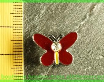 busy N1 Butterfly bead for bracelet 8 mm