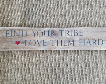 Large Reclaimed Wood Sign or Plaque