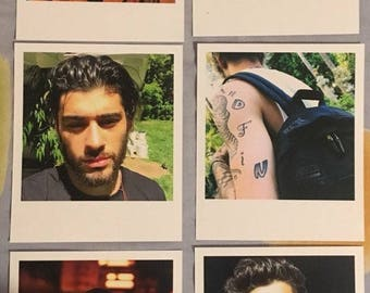 Zayn Malik Polaroids set of 10