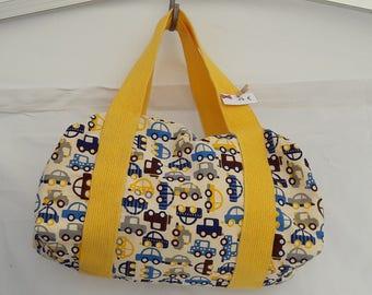 Size 1 duffel bag