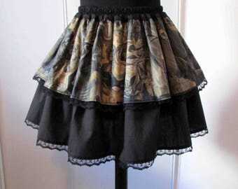 Heart of Darkness Gothic skirt