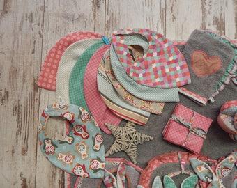 To choose 10 colors little bib bandana bib