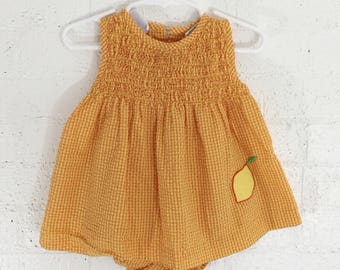 vintage dress with bloomers