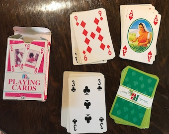 Used pg tips playing cards deck
